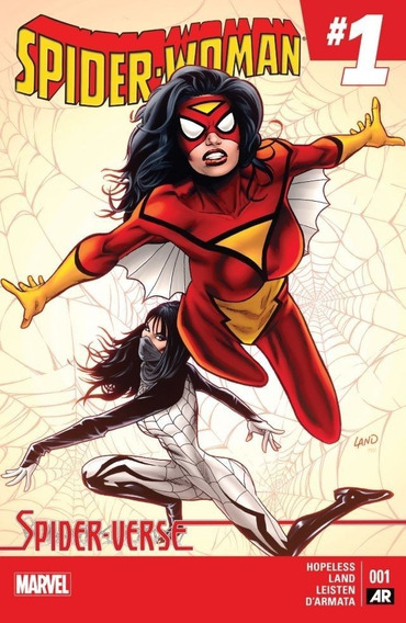 Spider-woman #1 (2013) Spider-verse Marvel