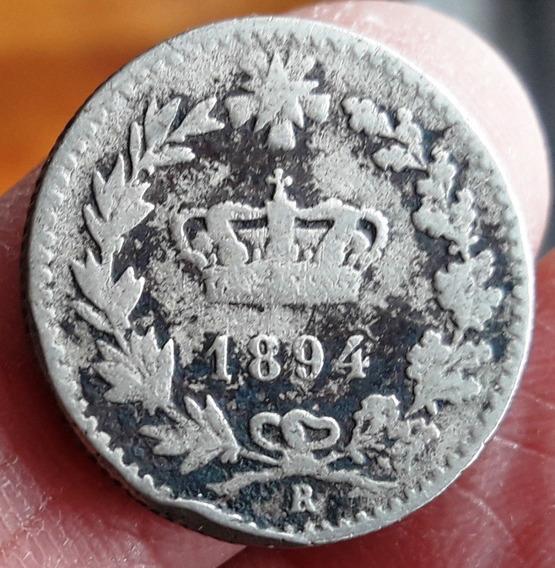 Italia Moneda Del Año 1894 - 20 Centesimi - Regular Estado