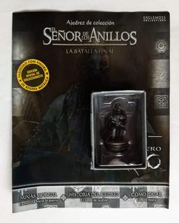 Ajedrez De Colección - El Señor De Los Anillos N° 20 Orco