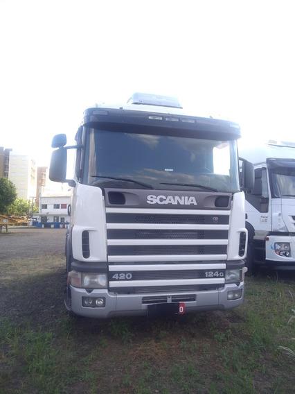 Scania R124 400 4x2 2003/2004 Único Dono Ótimo Estado