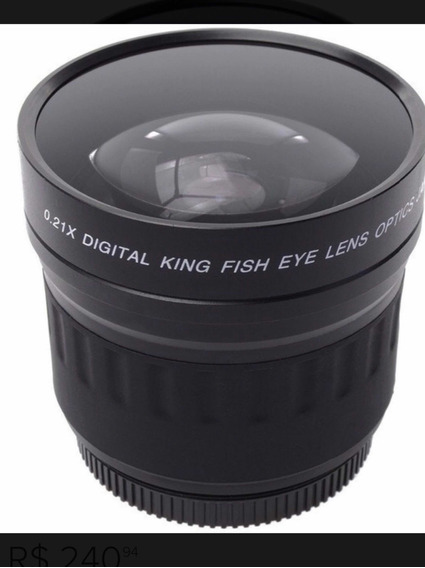 Lente King Fisheye