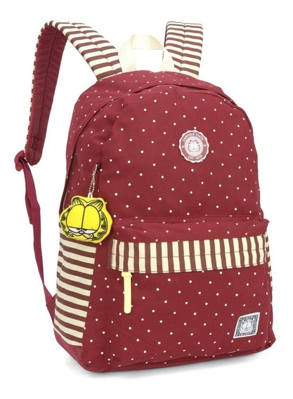 Mochila Costa Garfield P/ Notebook Grande - Original