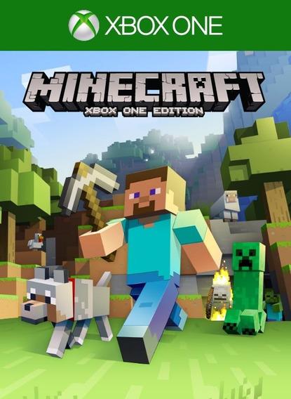 Jogo Minecraft Xbox One Original Em Português Frete Grátis
