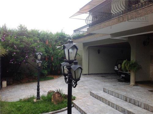 Imagem 1 de 29 de Casa Com 5 Dormitórios À Venda, 715 M² (av. Heitor Penteado) - Parque Taquaral - Campinas/sp - Ca4539