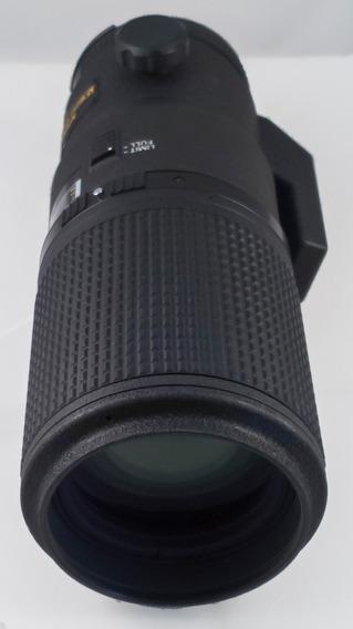 Lente Nikon 200mm F4 Micro