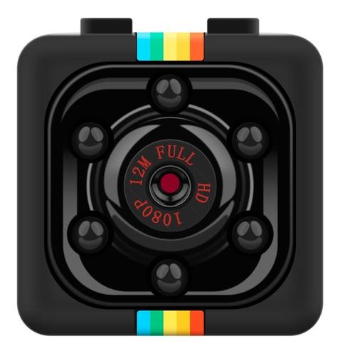 Imagem 1 de 9 de Mini Camera Espiã Sq11 Sensor De Movimento Dvr Visão Noturna
