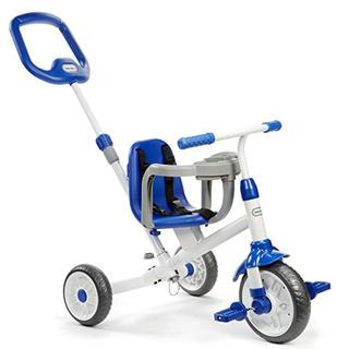 Little Tikes Pequeño Ride N Aprender 3-en-1 Trike, Azul