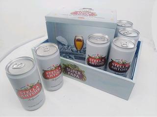 Pack Regalo Personalizado Bandeja + Caja + Cervezas