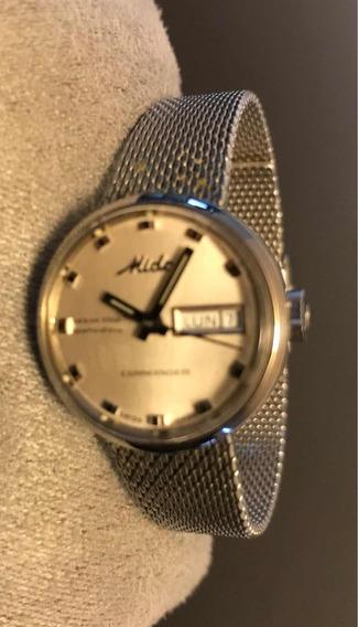 Reloj Mido Commander Automático Original Dama Ocean Star