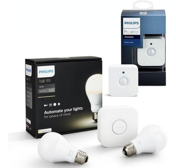 Philips Hue Kit De Inicio White Luz Blanca + Sensor Hue