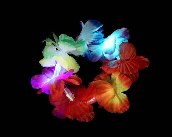 Pulsera Hawaiana Luminosa Led