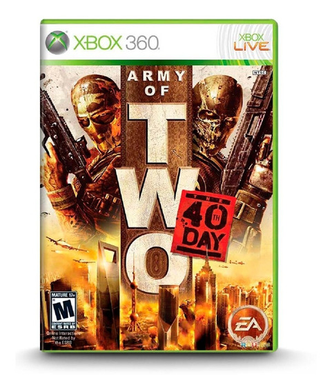 Army Of Two The 40th Day - Novo Original Xbox 360