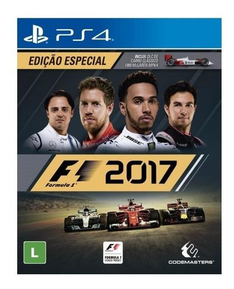 F1 2017 Ps4 Português Promoção