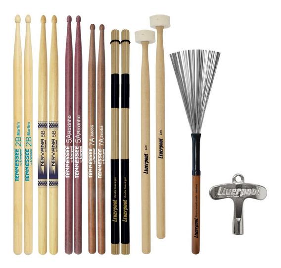 Baquetas 5a 7a 5b 2b Va300 Malet Acoustic Roods Liverpool