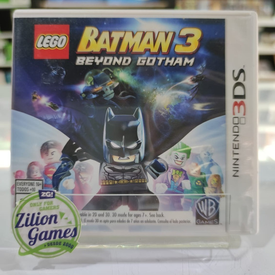 Lego Batman 3 Beyond Gotham Nintendo 3ds - Completo