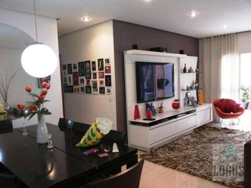 Imagem 1 de 28 de Apartamento Com 3 Dormitórios À Venda, 259 M² Por R$ 910.000,00 - Baeta Neves - São Bernardo Do Campo/sp - Ap0838
