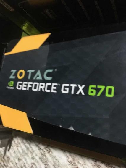 Placa De Video Nvidia Gforce Gtx 670