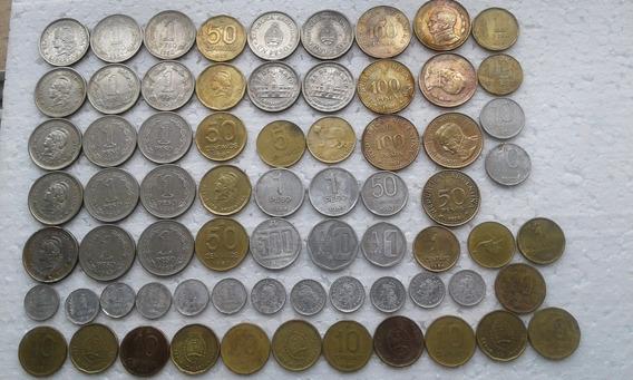 Monedas Argentinas 70 Unidades Varias