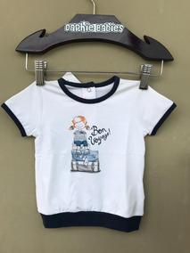 Camiseta Bebê My First Chicco Menina Verão