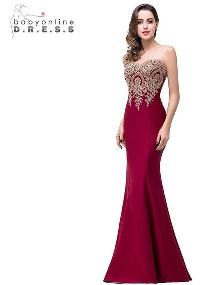 Vestido De Noche Largo Cps262.22