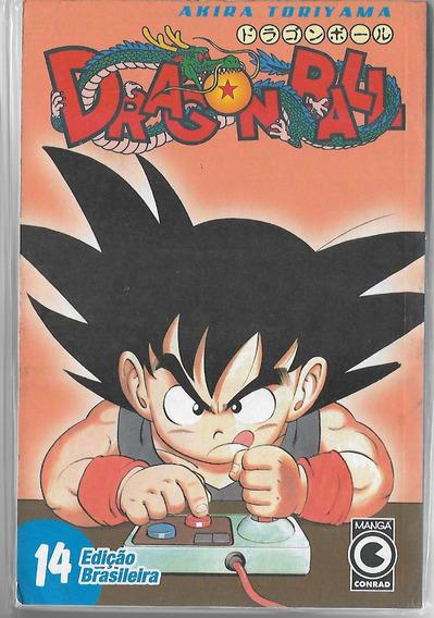 Mangá Dragon Ball 14 - Editora Conrad Frete Incluso