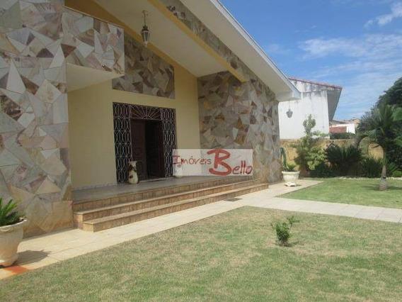 Casa Com 4 Dormitórios À Venda, 501 M², Jardim Santa Rosa - Itatiba/sp - Ca1128
