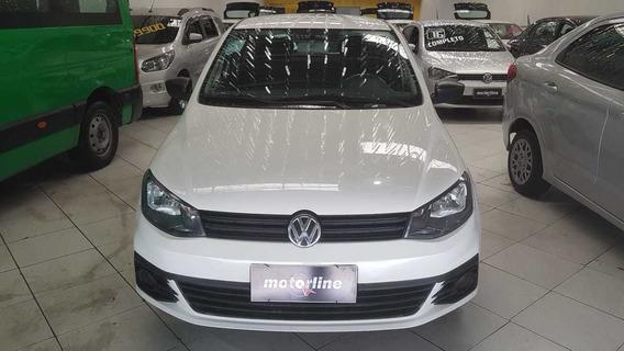 Volkswagen Gol 1.0 Trendline 2017 Branco Completo