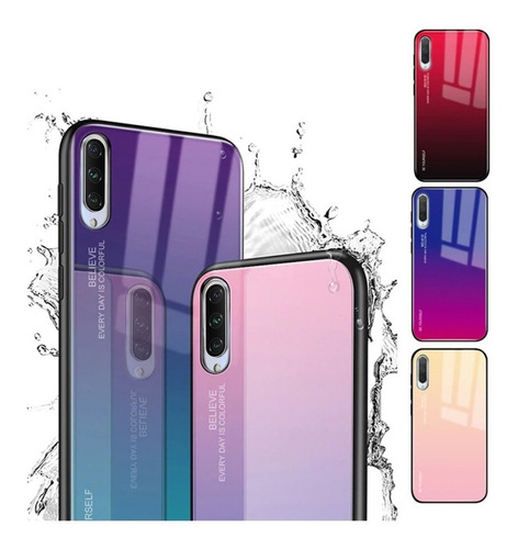 Estuche De Moda Degradado Bicolor Xiaomi Mi A3