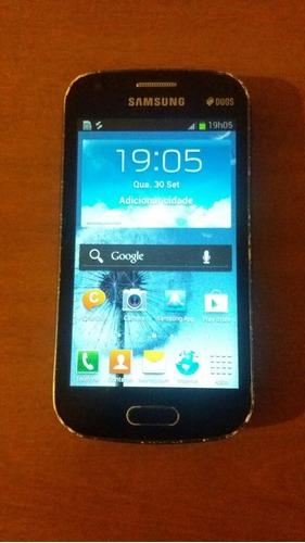 Smartphone Samsung Galaxy S Duos Gt-s7562l Funcionando.