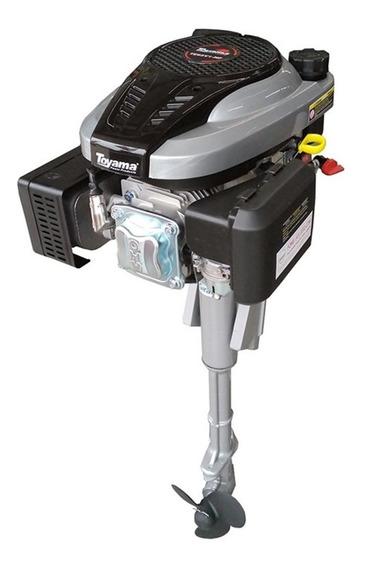 Rabeta Vertical Com Motor A Gasolina Toyama 6,5 Cv Te65v1-hf