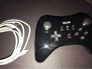 Control Wiiü Pro Original Con Cabré Original