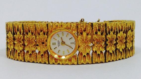 Reloj De Oro De 18k. Marca Geneva Swiss (ref 1306)