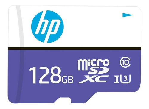 Imagen 1 de 6 de Hp Mx330 Memoria Microsdxc Clase 10 U3 128 Gb Ng