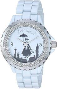 Reloj Analógico De Cuarzo Mary Poppins De Disney Femenino Co