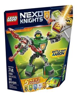 Lego Nexo Knights Battle Suit Aaron Building Kit