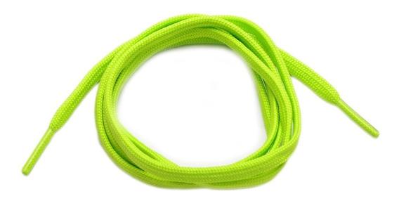 Cadarço Tênis Masculino Verde Limão Chuteira Original 1,10