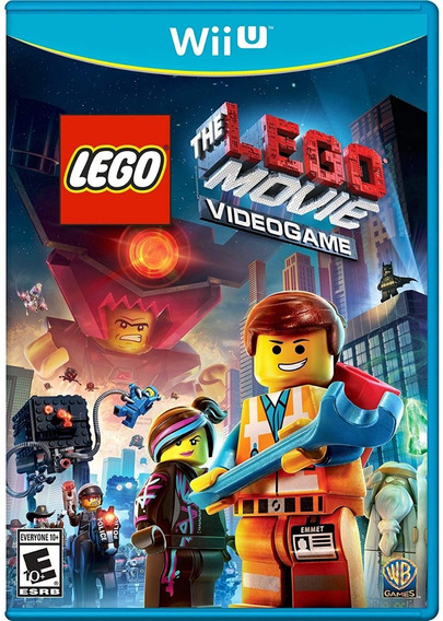 The Lego Movie Videogame - Wii U - Mídia Física