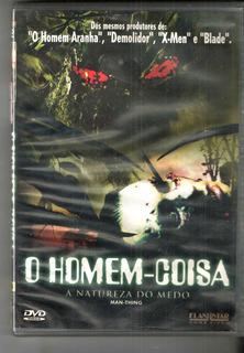 Dvd Original - O Homem Coisa - A Natureza Do Medo - Filme