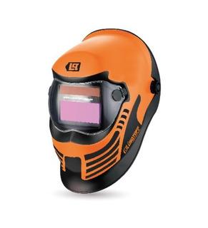 Máscara Fotosensible Careta Soldar Autom 4 Sensores St-1b