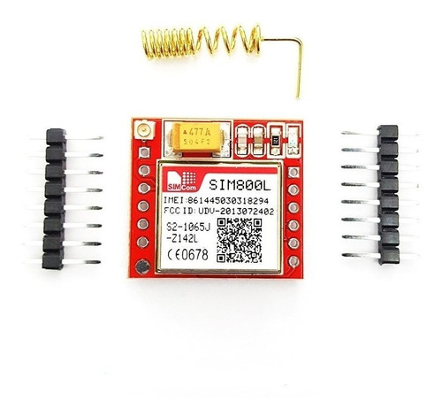 Modulo Gsm Gprs Sim800l Arduino