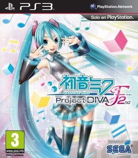 Hatsune Miku: Project Diva F 2nd ~ Ps3 Digital