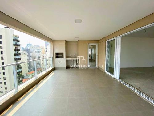 Apartamento À Venda, 202 M² Por R$ 3.901.000,00 - Paraíso - São Paulo/sp - Ap1863