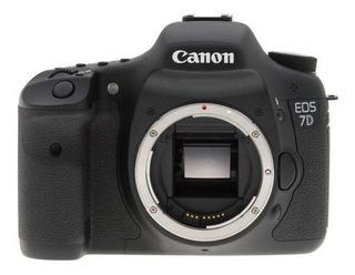 Camara Canon Eos 7d 18mp Slr Digital Camera Body Bajo Pedido