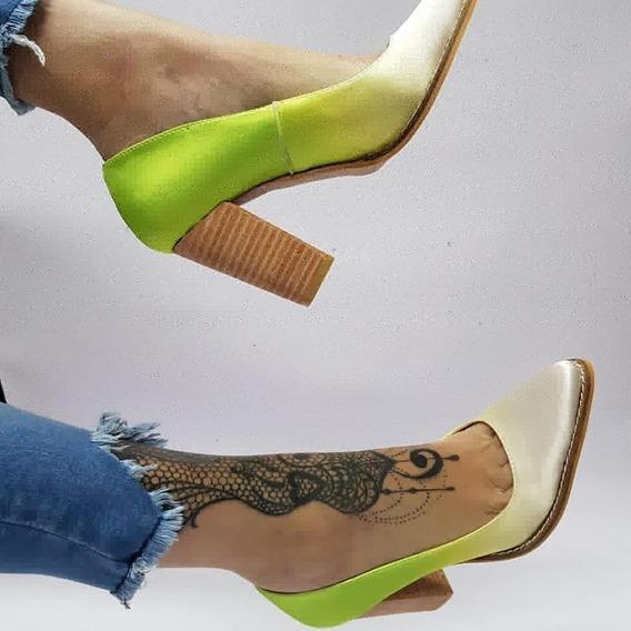 Stiletto Degrade Stampa Woman