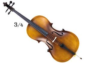 Violoncello Cello Violoncelo Custom 3/4 Completo