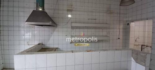 Imagem 1 de 9 de Salão Para Alugar, 60 M² Por R$ 1.900,00/mês - Centro - São Caetano Do Sul/sp - Sl0402