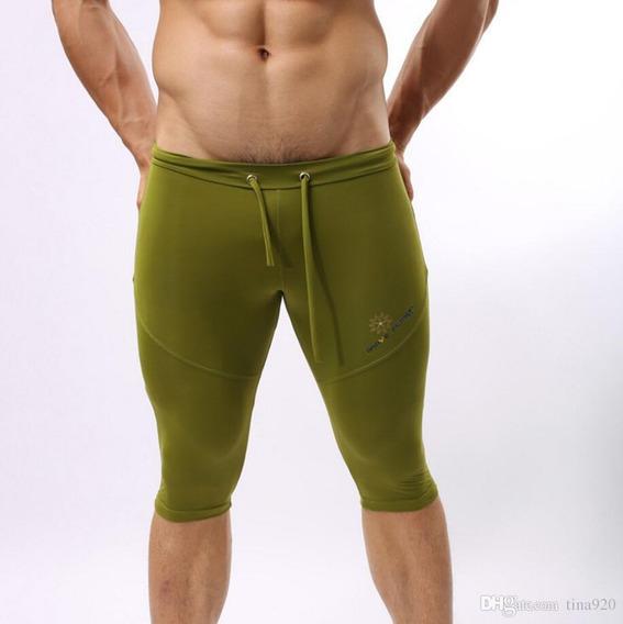 Licras Deportivas Caballeros Brave Person Green