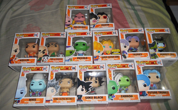 Funko Pop Dragon Ball Z/super... Figuras, Muñecos