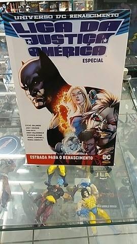 Universo Dc Especial Renascimento Liga Da Justiça Da América