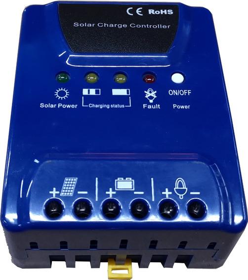 Regulador De Voltaje Panel Solar C-12v/24v 20a Enertik